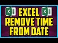 How To Remove Time From Date In Excel WORKING 2017 - Microsoft Excel Remove Timestamp From Date