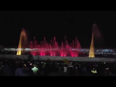 Prem Mandir Fountain Show  Vrindavan