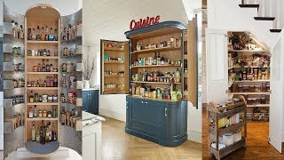 10 Small Pantry Ideas for an Organized, Space Savvy Kitchen