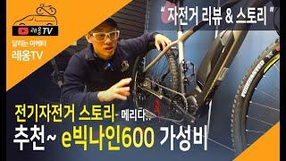 [전기자전거] e빅나인 600 자전거리뷰~ | 생활형 …