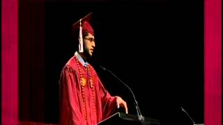 Muslim recites quran at catholic university graduation