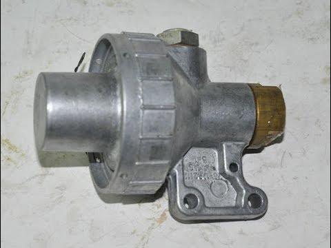 Редукционный клапан, замер рабочего давления и его ремонт