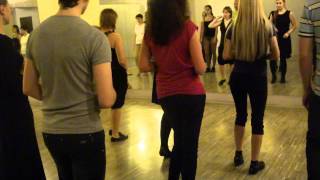 Кизомба шаги, видео урок. Kizomba dance, basic step.