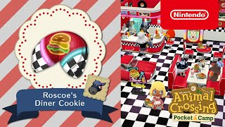 Animal Crossing: Pocket Camp - Roscoe's Diner Cookie
