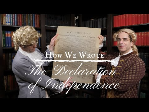 (Ep. 2) The American Revolution: Writing The Declaration Of Independence