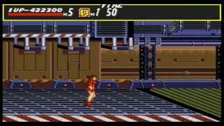 Ending Old Games - Streets of Rage (HARDEST) - Sega Genesis