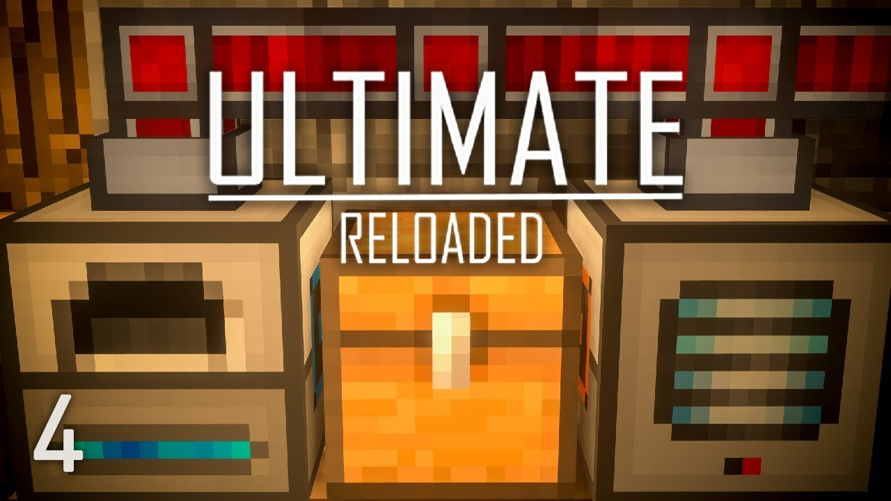 FTB Ultimate Reloaded Modpack Ep  4 Thermal Ore Processing