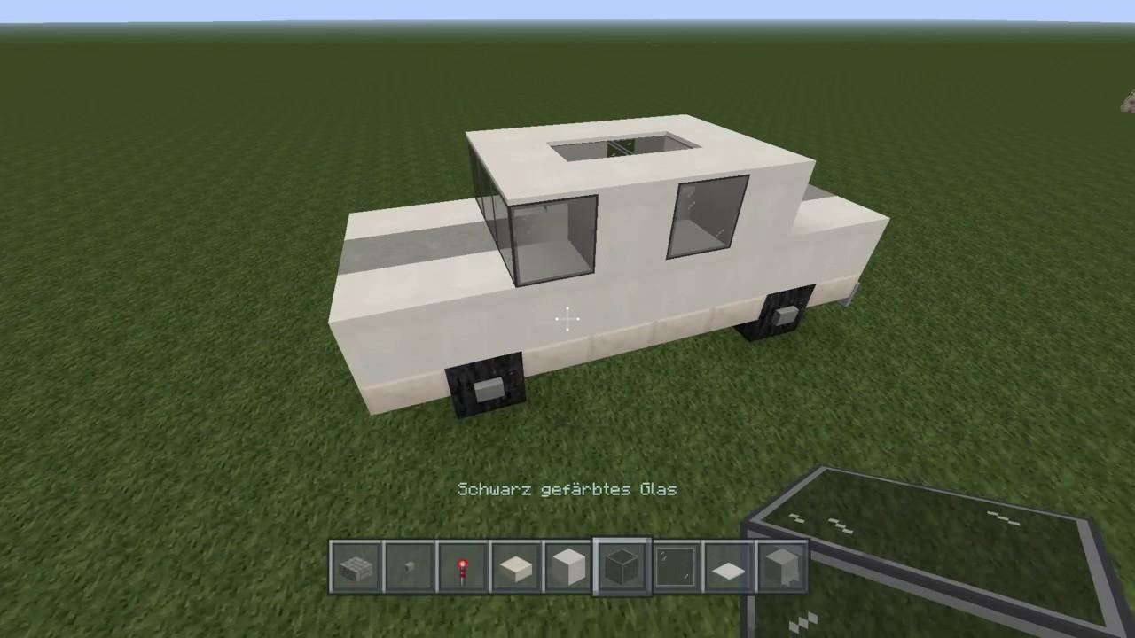 Geiles Auto Bauen In Minecraft Deutsch YouTube - Minecraft spiele mit autos