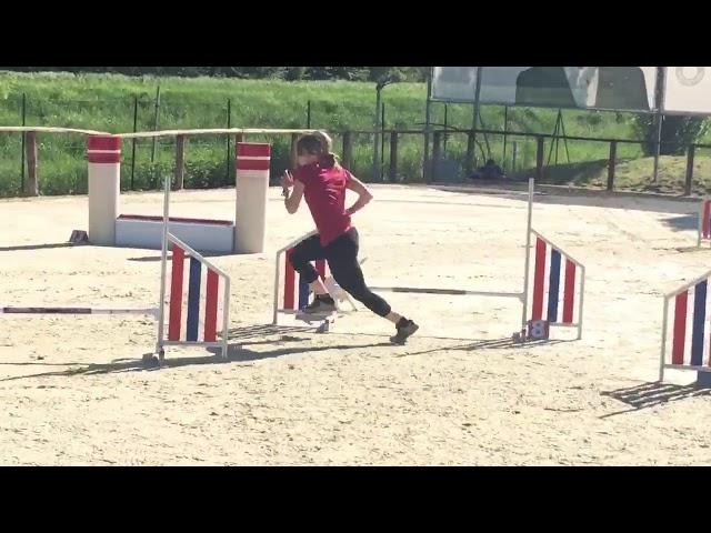 Raffaella e Abi agility Selezioni 2018