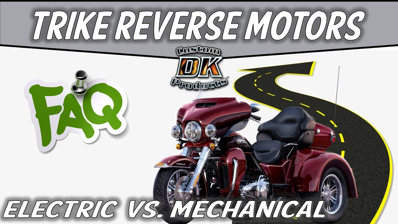 The Real Story On Harley's Electric Trike Reverse