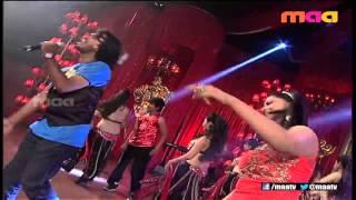 SOORAJ SANTHOSH Live Performance Alludu Seenu Audio Launch