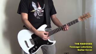 Teenage Lobotomy - Guitar Cover