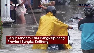 Download Video BANJIR RENDAM KOTA PANGKALPINANG BANGKA BELITUNG MP3 3GP MP4