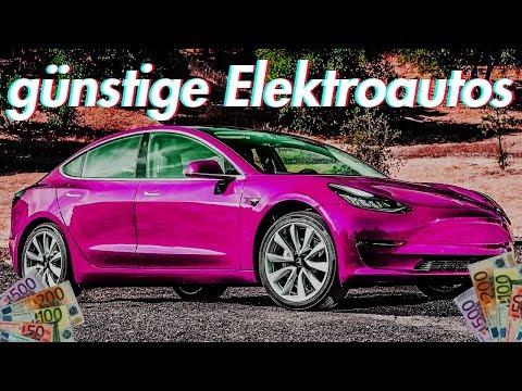 5 günstige Elektroautos die du dir leisten kannst!