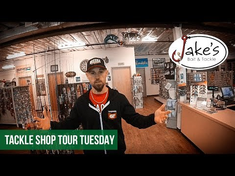 Tackle Shop Tour - Jake's Bait & Tackle