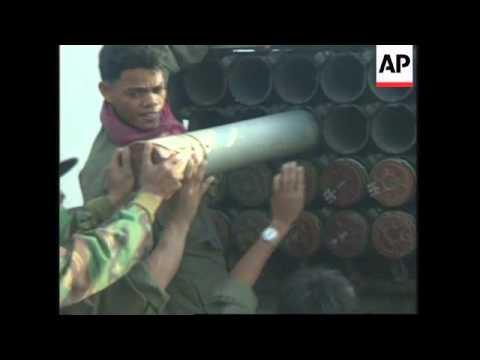 CAMBODIA: FIGHTING CONTINUES ON THAI BORDER