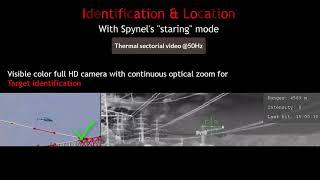Visible Channel & Laser Range Finder (V-LRF option) for SPYNEL Panoramic IR Sensor