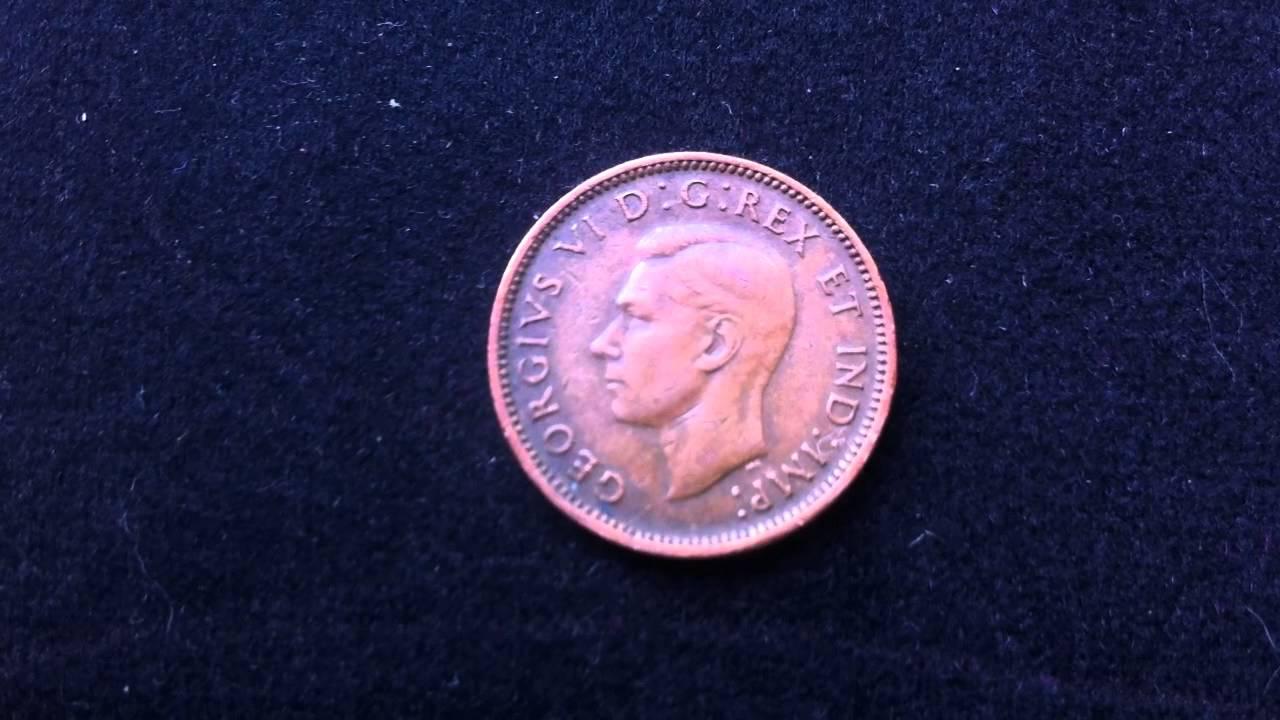 Coins : Canadian Penny 1945 Coin aka