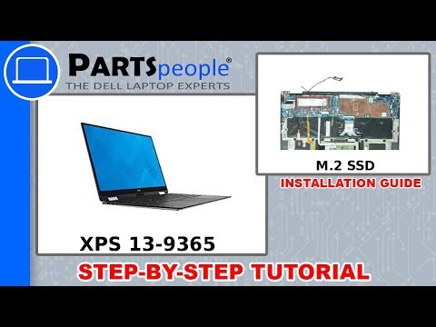 Dell XPS 13-9365 (P71G001) M.2 SSD How-To Video Tutorial