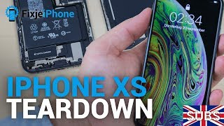 FIRST: iPhone Xs teardown