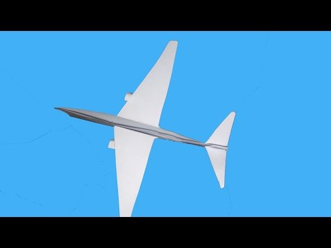 How To Make Paper Airplane Life Hack Tips To Create Flight with A4
