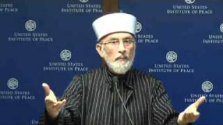 Radicalism in Islam : Shaykh Tahir ul Qadri at United States Peace Institute 2010