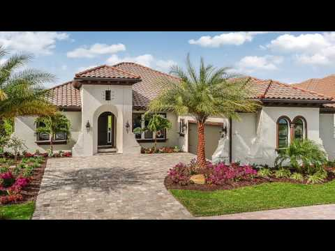 Cardel Homes Lakewood Ranch Award Winning Toriana Model