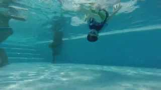 Pool Fun at Camping Del Garda, Peschiera, Lake Garda, Italy 2014