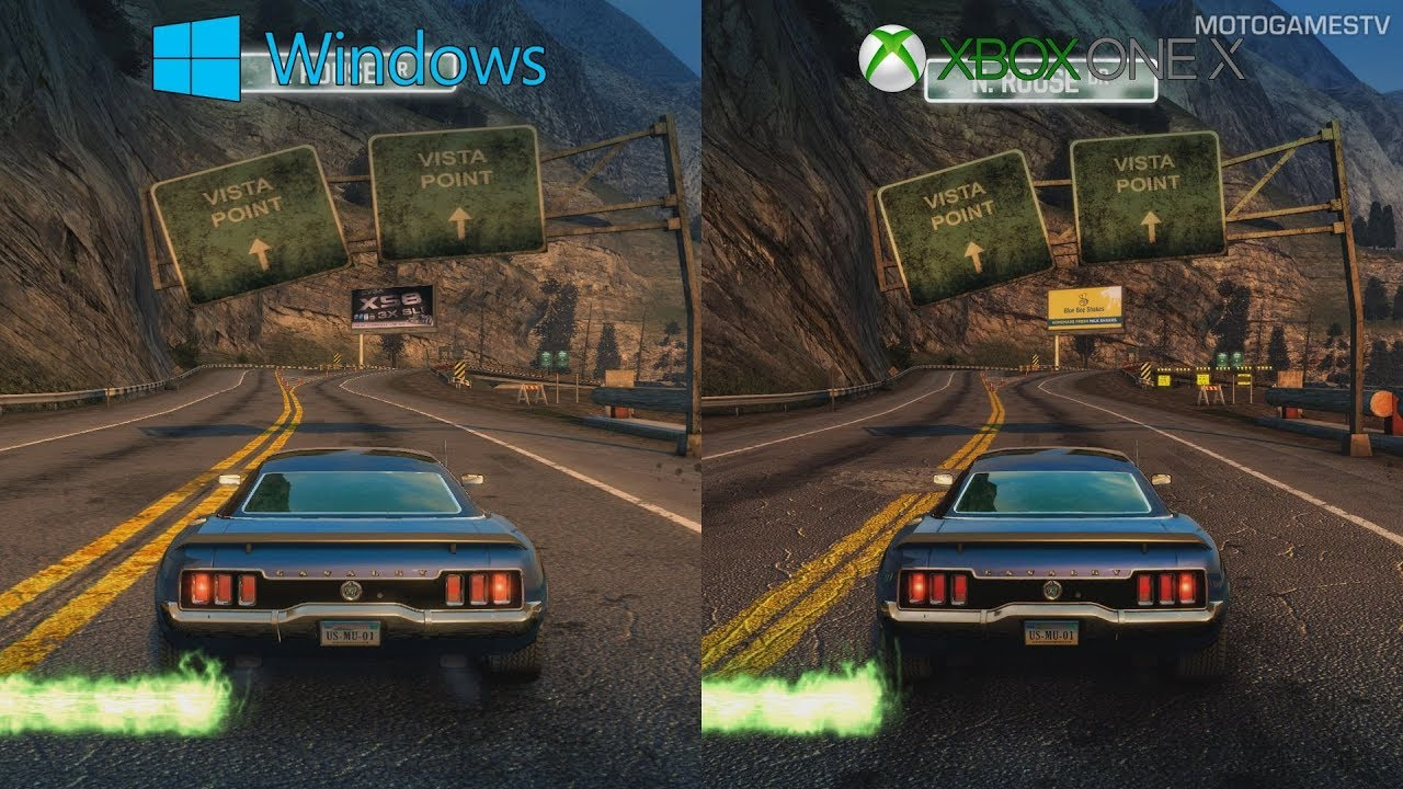 Burnout Paradise vs Remastered - PC vs Xbox One X - 1080p Graphics  Comparison