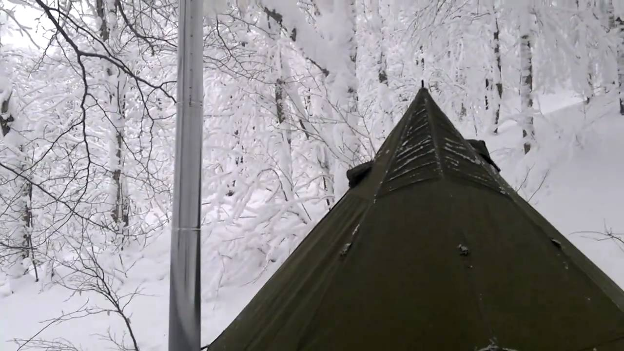 5 man arctic tent u0026 kni co packer wood stove there is a first