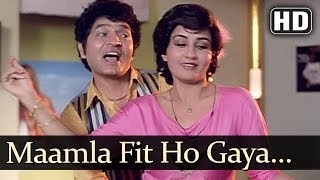 Maamla Fit Ho Gaya (HD) - Main Inteqam Loonga Songs - Dharmendra - Reena Roy - Kishore Kumar