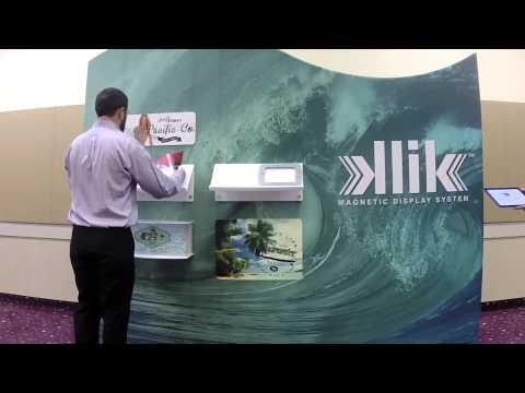 klik magnetic display system