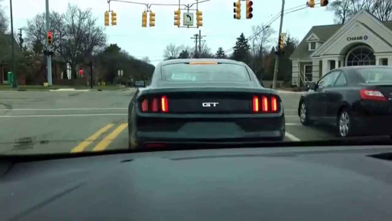 2015 Mustang Gt Sequential Tail Lights Youtube
