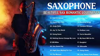 Saxophone Cover Popular Song 2019 - Beautiful Romantic Saxophone Instrumental Love Songs