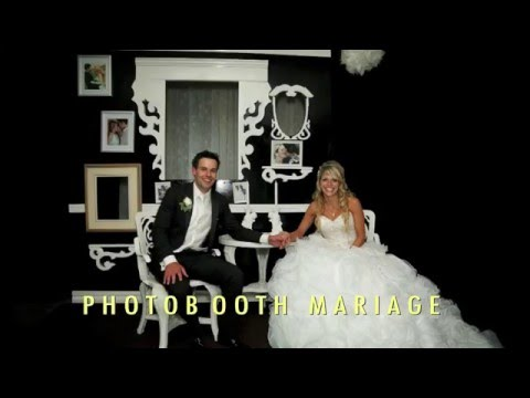 photobooth pour mariage youtube. Black Bedroom Furniture Sets. Home Design Ideas
