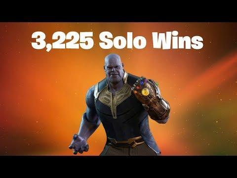 #1 World Record 3,225 Solo Wins | Fortnite Live Stream