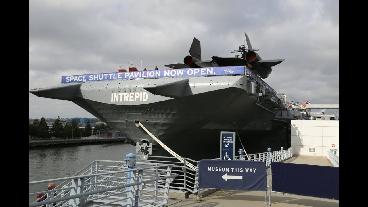 U.S.S. Intrepid Aircraft Carrier CV-11 Museum Walk Around ...