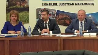 Sedinta ordinara a Consiliului Judetean Maramures din 28.06.2018