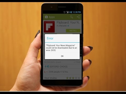 How to Fix Google Play Store Error's In Android Phone & Tablet