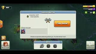 Playing clash of clans again.. I suck at coc