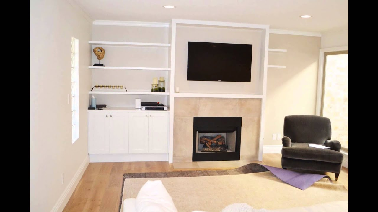 custom fireplace entertainment center youtube
