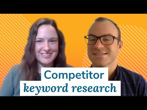 Competitor Keyword Research | Monday Marketing Minute by Oneupweb
