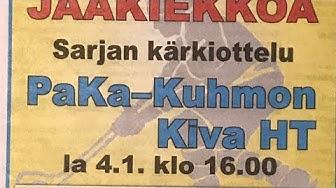 PaKa KuKi III div jääkiekko-ottelu 4.1.2020