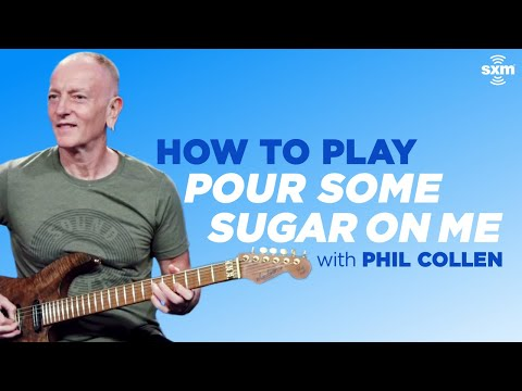 """Phil Collen Teaches How to Play """"Pour Some Sugar On Me"""" on Guitar"""