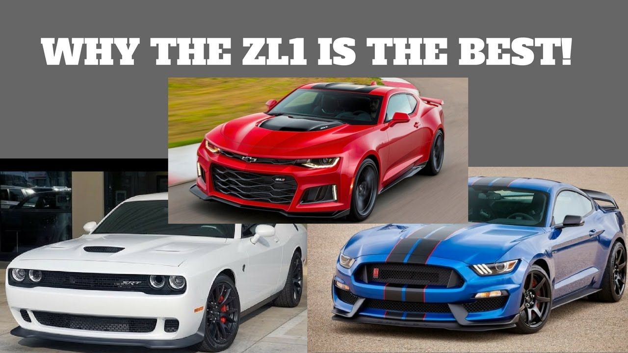 why i chose a 2017 camaro zl1 over a shelby gt350 or challenger rh youtube com