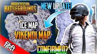 New Map VIKENDI (New Ice Map & New Snow Map) ! PUBG Mobile Update   PUBG New Map Confimed! - Hindi