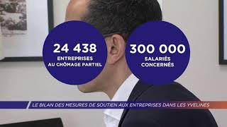 Yvelines | Le bilan des mesures de soutien aux entreprises dans les Yvelines