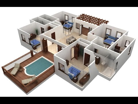 Autocad 2017  1 st floor  drawing 2d HOUSE PLAN [part 3 ]