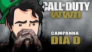 CALL OF DUTY WW2 #1 - DIA D - Campanha Dublado em Português PC