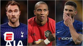 Christian Eriksen, Ashley Young, & Olivier Giroud all heading to Inter? | ESPN FC Transfer Talk